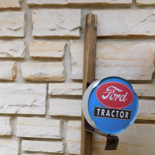 Ford Tractor logo emblem miniature wall or post service Sign USA made