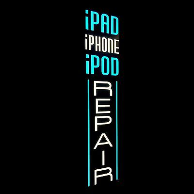 IPad iPhone iPod Repair LED Nimble-witted Cell Sign Vertical Light Box Neon Alternative