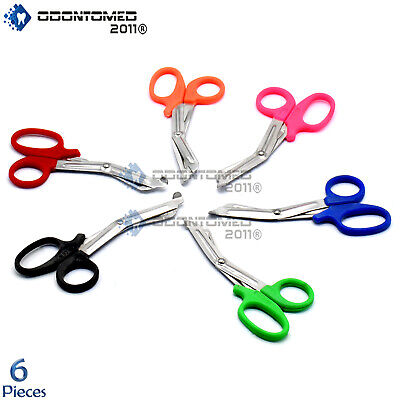 Odm 6 Pcs Paramedic Emt Trauma Shears Scissors Utility Scissors 5.5