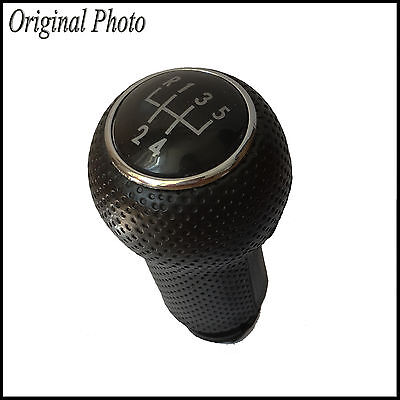 Gear Shift Knob 5 Speed Leather Imitation VW Golf MK3 MK4 Polo 6N 6N2 Bora Vento