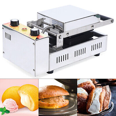 Commercial Sandwich Press Grill Electric Panini Maker Machine Non-stick Cooking