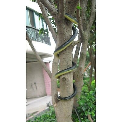 Lifelike Snake Realistic Large Rubber Fake Scary Toy Kids Best Prank Halloween