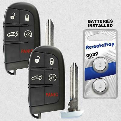 2 For 2011 2012 2013 2014 2015  Dodge Charger Journey Smart Prox Remote Key Fob