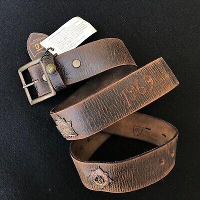 HTC Los Angeles belt Argossy dark brown leather belt size 100/40