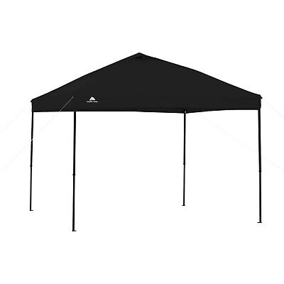 Instant Canopy Pop Up 10x10 Straight Leg Tent Gazebo Portable Shelter Outdoor ()