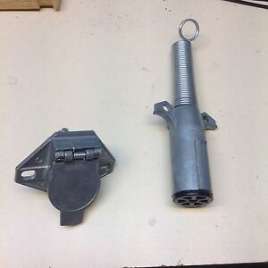7 PRONG  TRUCK AND TRAILER PLUG AND SOCKET