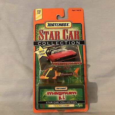 MATCHBOX STAR CAR COLLECTION MAGNUM P.I. T.C.'S HELICOPTER