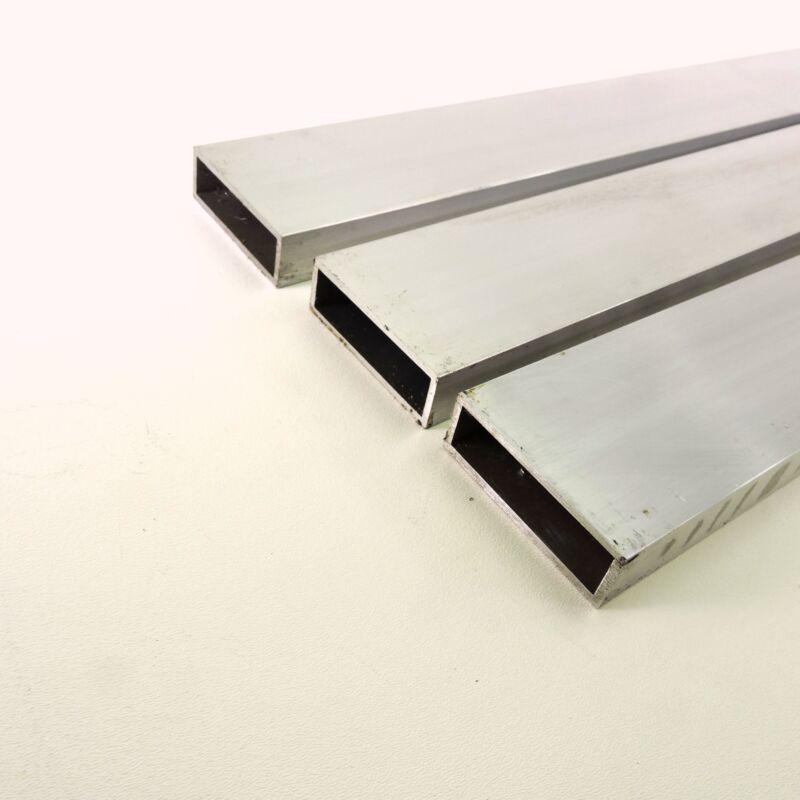 "1"" X 3"" OD Alumnum Rectangle TUBING.125"" wall thick 34.5"" long QTY 3 sku137713"