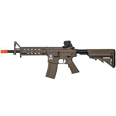 Lancer Tactical LT-23T CQB Automatic Electric AEG Version 2 Airsoft M4 Rifle Tan