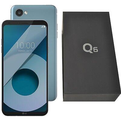 "New 5.5"" LG Q6 32GB M700N Ice Platinum Android Factory Unlocked 4G/LTE OEM"
