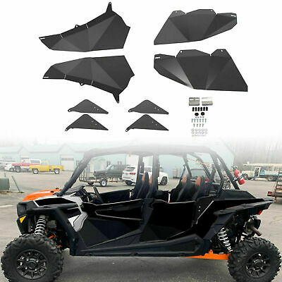 Lower Door Panel Inserts For 2014-19 Polaris RZR 4 900 RZR XP4 Turbo 1000 4Door
