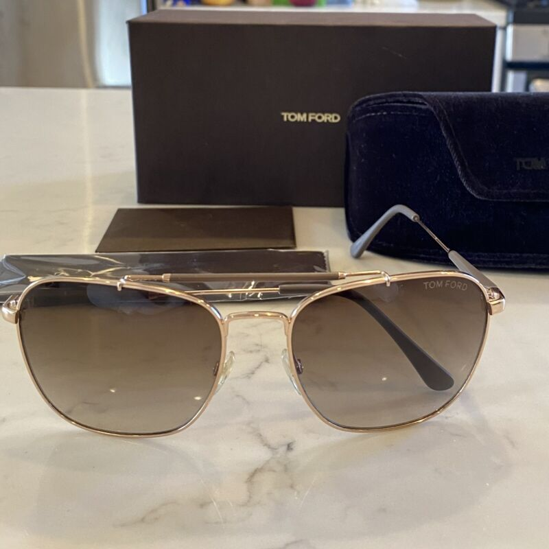 Tom Ford Authentic Edward Sunglasses Brown