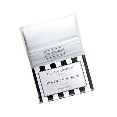 The Laundress - Mesh Washing Bags, 1 Small & 1 Large, 100% Nylon, Covered Zip...