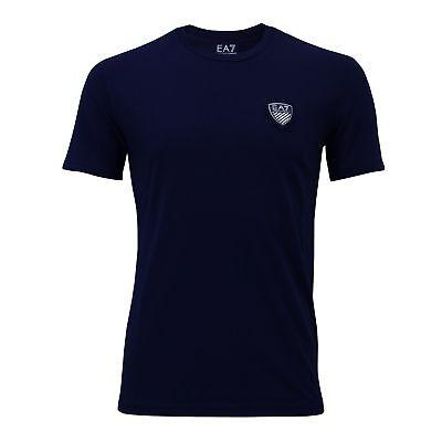 Armani T-shirts (HERREN EMPORIO ARMANI EA7 T-SHIRT RUNDHALS 3YPTL7, SCHWARZ, GRAU, BLAU)