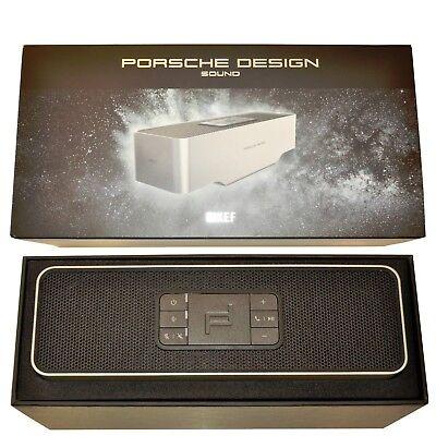 BNIB Porsche Design Gravity One SP3900GA Silver/Black Premium Bluetooth Speaker