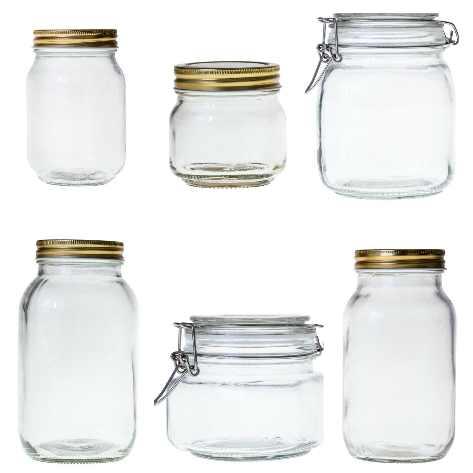 minify Einmachgläser Vorratsgläser Schraub- und Bügelverschluss Marmeladengläser