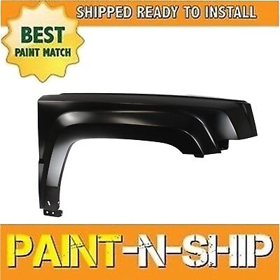 Drivers Front Left Fender For 2011-2017 Jeep Patriot SUV NEW Painted To Match