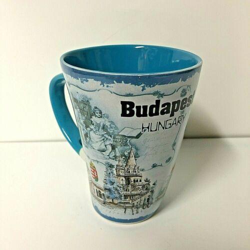 Budapest Hungary Souvenir Ceramic Coffee Tea Cup Mug New