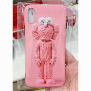 Pink Kaws iPhone X Case - Brand New