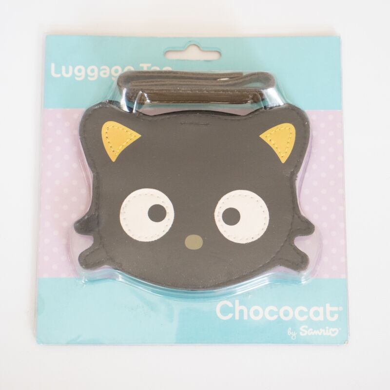 NEW Chococat Luggage Tag Sanrio Travel ID Cat Kitty