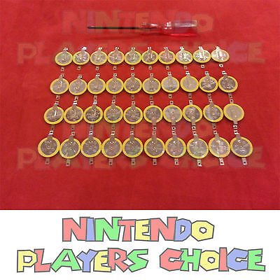 40x Gameboy Game Save Batteries Cr1616 With Tabs + Tool F...