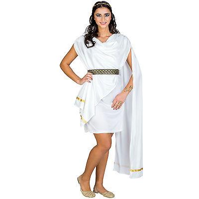 Toga Toga Toga (Frauenkostüm Griechin Kostüm Römerin Toga Griechin Antike Göttin Fasching Olymp)