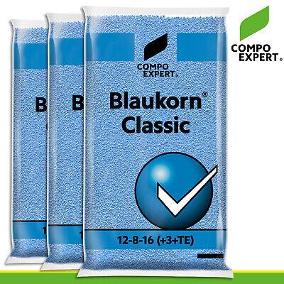 Compo Expert 3 x 25 KG Blue Corn Classic 12-8-16 3+ 10) Universal Fertilizer
