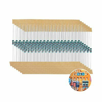 1280 Pcs Assorted 64 Values Resistor Kit Storage Box Diy Projects Experiments