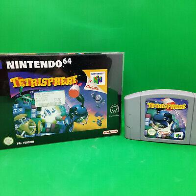 Tetrisphere - Nintendo 64 N64 Spiel in OVP ohne Anleitung aus Sammlung - PAL