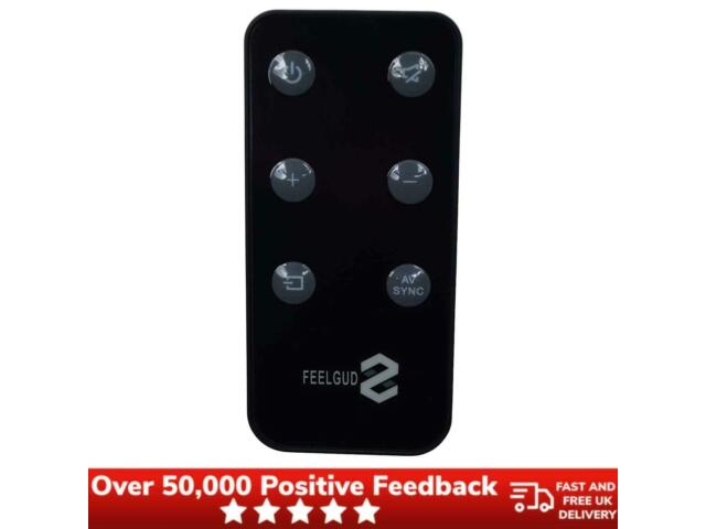 Sky Soundbox Replacement Remote Long Lasting Battery Compact - Black