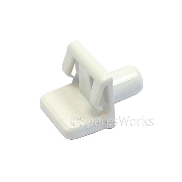SIEMENS Replacement Refrigerator Fridge Freezer Shelf Support Clip White Genuine