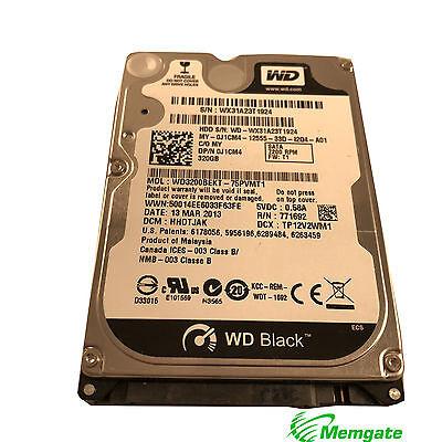 "Western Digital WD3200BEKT - 75PVMT1 320GB 7200 RPM 2.5"" Sata Drive for Laptops"