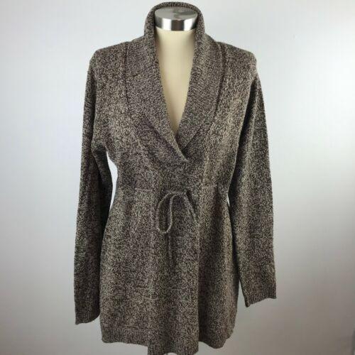 Derek Heart Maternity Womens XL Brown Sweater