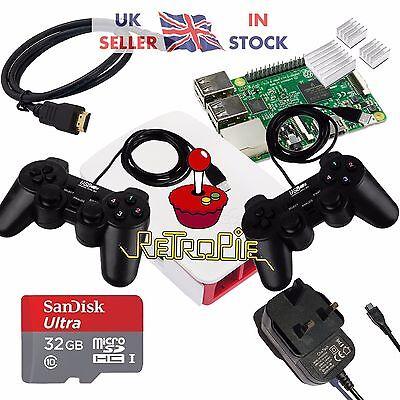 RetroPie Raspberry Pi 3 Retro Games Arcade Console - 32gb