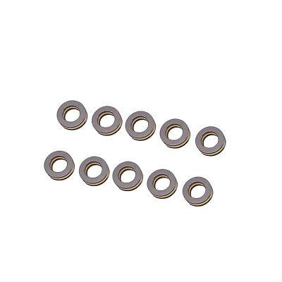 Us Stock 10pcs F10-18m Axial Ball Thrust Bearing 3-parts 10mm X 18mm X 5.5mm