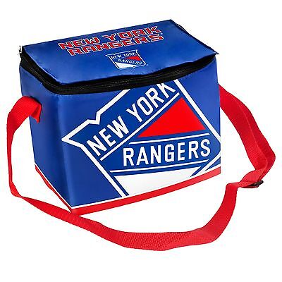 NY New York Rangers Insulated soft side Lunch Bag Cooler New NHL - BIg - Ny Rangers Logo