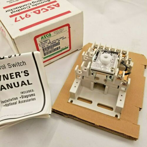 Asco | 91762071 | Lighting Contactor 6 Pole 20 Amp 265/277V Coil | Pre-Owned