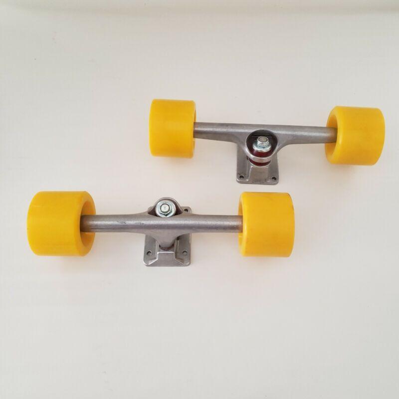 SET OF 2 Longboard / Cruiser  10 inch Trunk Wheels Bearings Unbranded