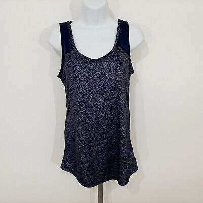 Columbia Omni Shade Women's Tank Top Size Small Blue (Shades Women's Clothing)