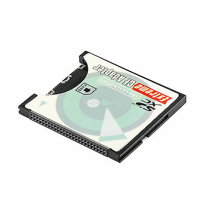 Extreme WiFi SD SDHC SDXC To CF Type I Compact Flash Memory Card Adapter