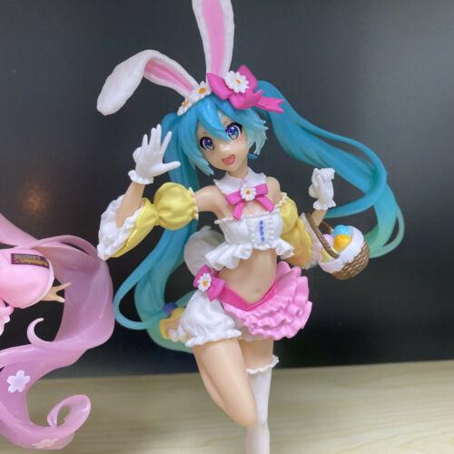 VOCALOID Hatsune Miku Easter Rabbit Ear Girl Bunny Dress Action Figure Toy BULK