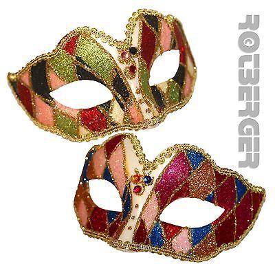 Venezianische Augenmaske Maske venezianisch Kostümzubehör Fasching Party Domino (Venezianische Maske Kostüme)