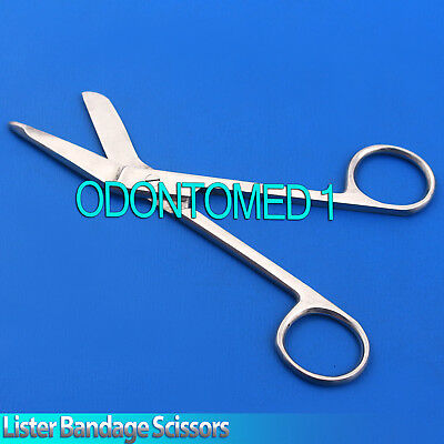 Medical Doctor Nurses Student First Aid Lister Bandage Dressing Scissors 13cm