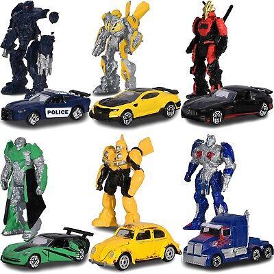 Transformers Auto Fahrzeug Set Roboter Bumblebee Optimus Prime Barricade Drift