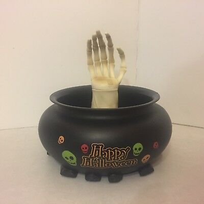 Gemmy - Halloween - Animated Candy Dish - Talking and Moving - Works Great (Halloween Moves)