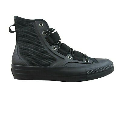 Converse Chuck 70 Tech Hiker High Top Triple Black Size 8.5 Mens NEW 161499C Converse Mens Hiker