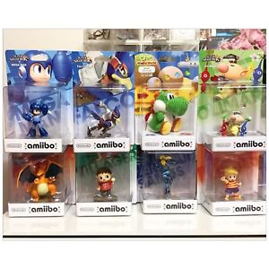 Wii U AMIIBOS -  BRAND NEW IN BOXES