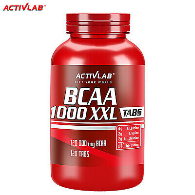 BCAA SUPPLEMENTS 120 Whey Protein Pills - Muscle Mass Growth Bcaas Amino Acids
