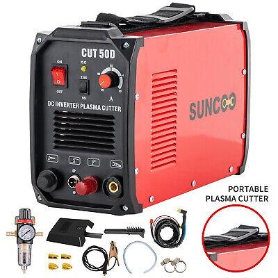 Plasma Cutters Non-touch Pilot Arc Cut50d Inverter Cutting Machine 110220v Red