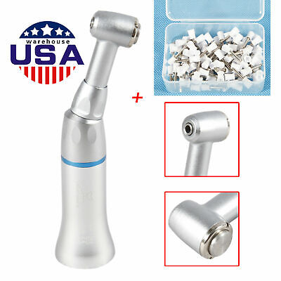 Usa Nsk Style Dental Slow Low Speed Contra Angle Handpiece Push100cups White